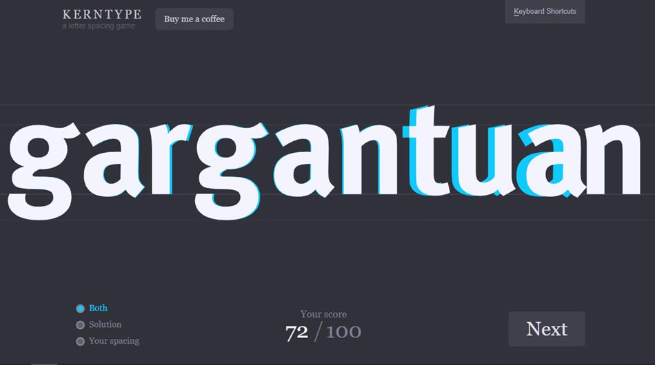 Best typography App - Kerntype App
