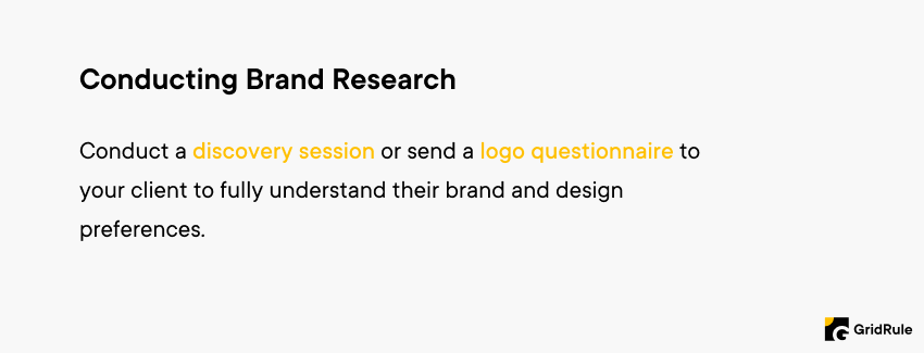 Logo Design Tips - Conduct Brand Research