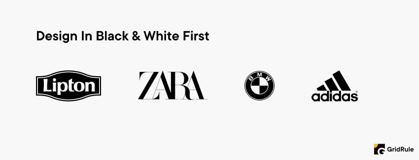 Logo Design Tips - Design In Black & White First