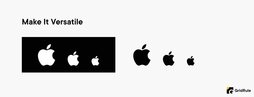 Logo Design Tips Make It Versatile