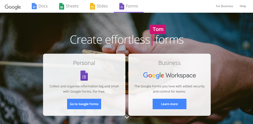 Google Forms - About