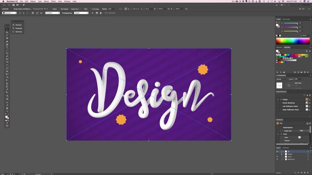 Cineware for Illustrator - Plugin