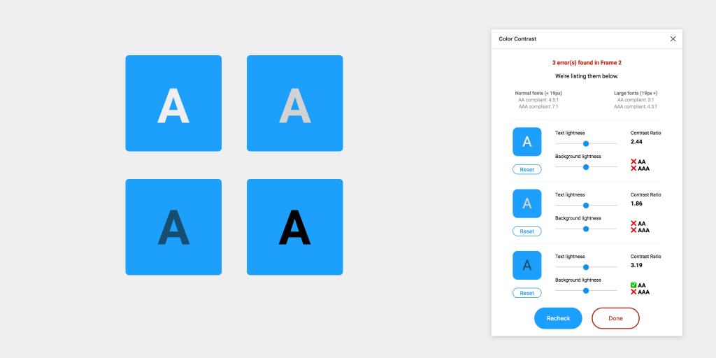 Color Contrast Checker - Figma Plugin