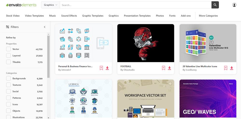 Envato Elements - Graphics & Illustrations
