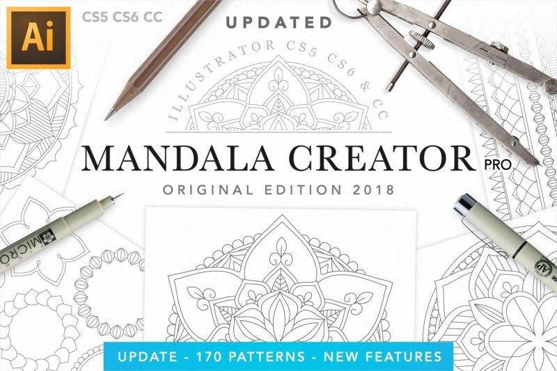 Mandala Creator Plugin Illustrator